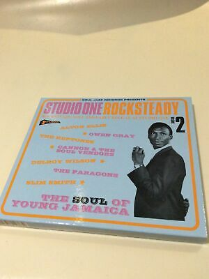 Studio One: Rocksteady Volume 2- Various- 2016 Soul Jazz Records Cd • 7.99£