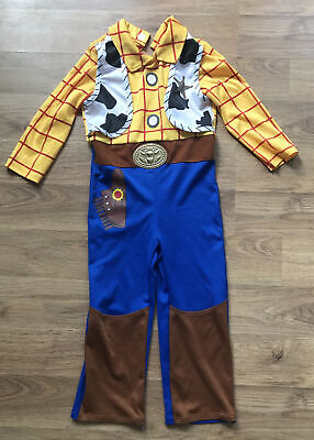 Toy Story Woody Fancy Dress Outfit Costume Age 3-4 Years • 5£