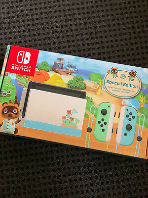 AU600 • Buy Nintendo Switch Animal Crossing: New Horizons Special Edition Console