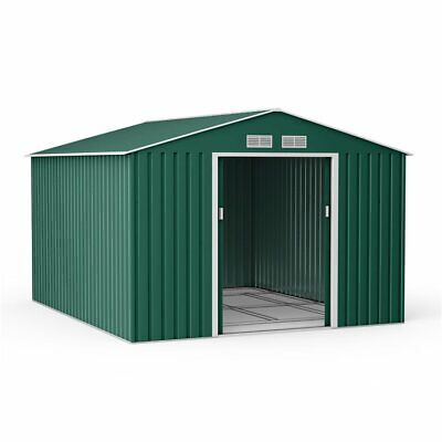 BillyOh Ranger Metal Garden Shed Outdoor Storage Heavy Duty With Foundation Kit • 383£