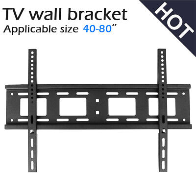 AU20.99 • Buy TV Bracket Wall Plasma Flat LCD LED Mount 40 -80  40 47 50 55 60 65 70 75 80Inch