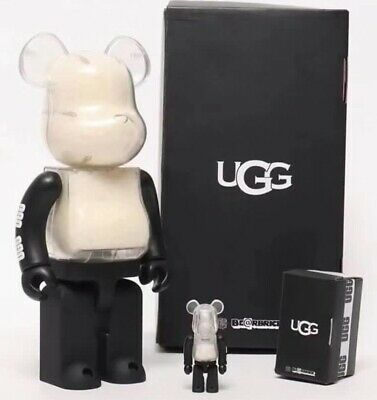 $688.99 • Buy Bearbrick Medicom Atmos X UGG Clear Collection 100% 400% Be@rbrick