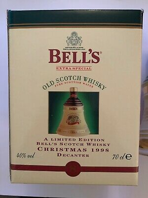 A Bells Xmas Decanter With Box • 30£