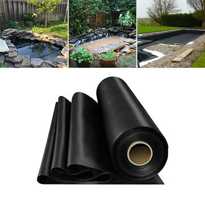 Durable Outdoor Fish Pond Liners Garden Pool HDPE Liner Membrane 0.35mm Thick • 55.14£