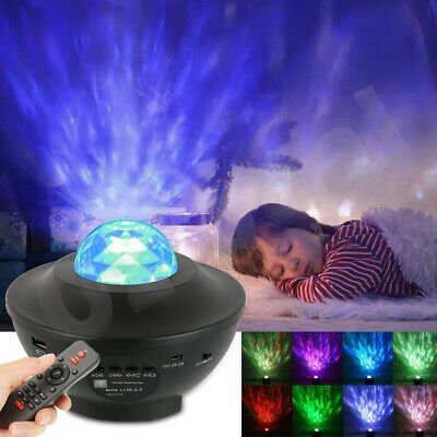 AU35.99 • Buy LED Night Light Galaxy Starry Projector Ocean Star Sky Party Baby Room Lamp Gift