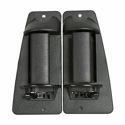 $10.99 • Buy Pair Rear Outside Door Handle For 99-07 Chevy Silverado GMC Sierra Extended Cab
