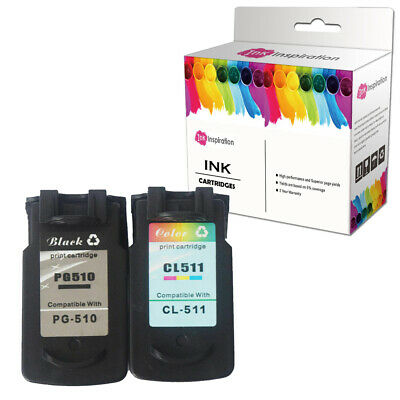 £21.69 • Buy 2 Ink Cartridge For Canon PG-510 CL-511 PIXMA MP495 IP2700 IP2702 MP230 Printer