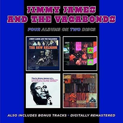 £12.74 • Buy Jimmy James & The Vagabonds - The New Religion/London Swings 'Live At  (NEW 2CD)