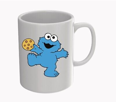 £7.99 • Buy Cookie Monster 11oz Mug Can Also Be Personalised With Any Name