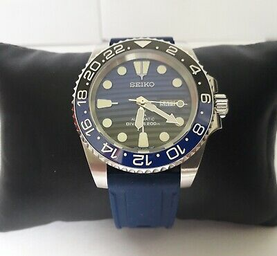 $ CDN547.49 • Buy Seiko MOD Skx Submariner PROSPEX BATMAN GMT Watch