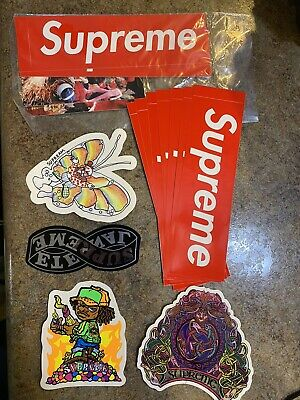 $ CDN37.60 • Buy Supreme 100% Authentic Sticker Lot Of 15