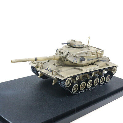 $39.86 • Buy New 1:72 Scale US Army M60A3 Main Battle Tank Desert Color Metal + Plastic Model