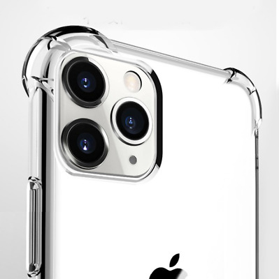 AU5.99 • Buy HQ Slim Clear Shockproof Bumper Case Cover For IPhone 12 Pro Mini 11 XS MAX XR