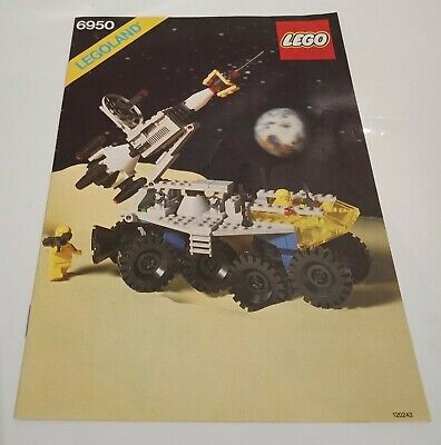 AU53.50 • Buy LEGO Classic Space / Mobile Rocket Transport 6950 INSTRUCTIONS ONLY (MINT)