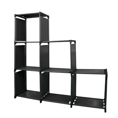 AU23.90 • Buy 6 Cube Storage Shelf Rack Bookcase Bookshelf Cabinet Craft Colthes Display Unit