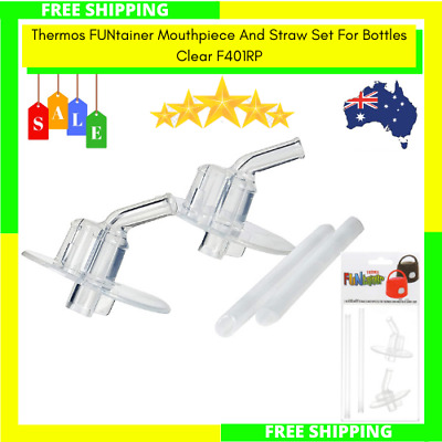AU9.99 • Buy Thermos FUNtainer Replacement Mouthpiece And Straw Set For Bottles F401RP