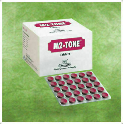 $31.25 • Buy 300 Tablets Charak M2 Tone Herbal Fast Shipping Worldwide No Side Effects