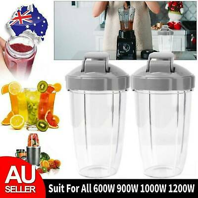 AU27.99 • Buy For Nutribullet Tall Cups Extractor Lids Blender 600 900 1000 1200W Replacement