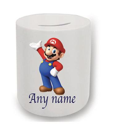 Super Mario Personalised Money Box • 6.50£
