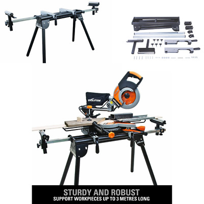 Mitre Saw Bench Universal Chop Evolution Workstation Table Stand Extensions New • 74.95£