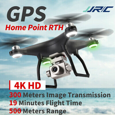 AU275.49 • Buy JJRC Drone With 4K Camera Self Stabilizing 5G Wifi FPV Live Video RC Quadcopter