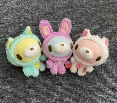 Gloomy Bear Baby Rabbit Cat Plush CHAX-GP Set Keychain Taito • 32£