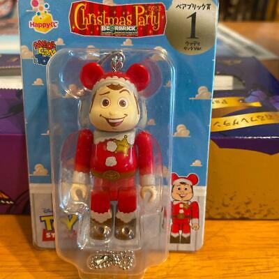 $58.50 • Buy Dysney Toy Story Bearbrick Be@rbrick Woody Christmas Santa Claus  MEDICOM TOY
