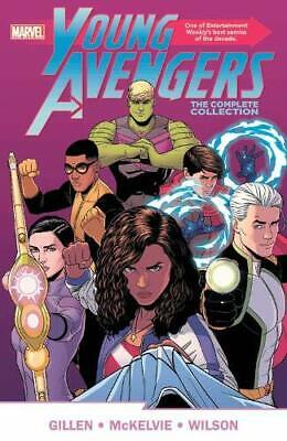 Young Avengers By Gillen & McKelvie: The Complete Collection TPB 1302925687 NEW • 17.99£