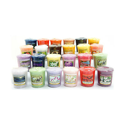 12 Official Yankee Candle Votive Samplers Assorted Fragrances Full Classic Range • 16.99£