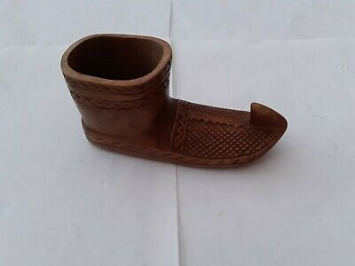 £20 • Buy Large Wooden Shoe Snuff Box