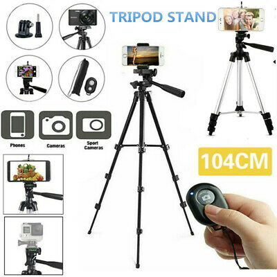 Universal Tripod Stand Telescopic Camera Phone Holder For IPhone Samsung Live UK • 10.69£
