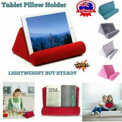 AU12.77 • Buy Pillow Holder Tablet Stand Foam Book Rest Reading Bed Support Cushion For IPad U