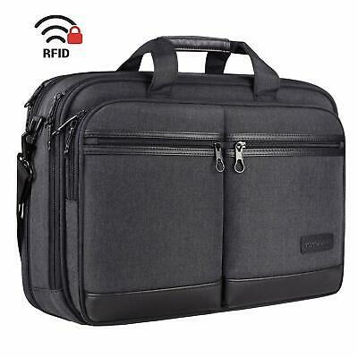 "Premium Stylish 18"" Laptop/Notebook Messenger Bag/Briefcase - Fits Up To 17.3  • 40.13£"