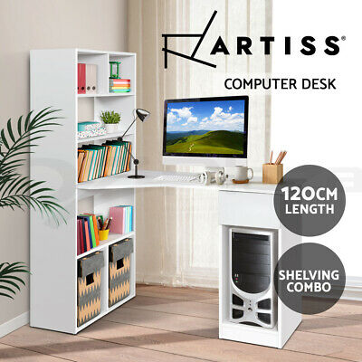 AU149.95 • Buy Artiss Computer Desk Office Student Study Table Home Workstation Corner Shelf