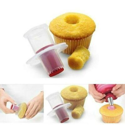 £3.66 • Buy Kitchen Cupcake Muffin Pastry Cake Corer Plunger Cutter Decorating Divider Model