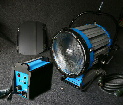 Pro 6000W HMI Fresnel Light 230V 4/6K Ballast Flycase Film Flicker-free • 6,288£