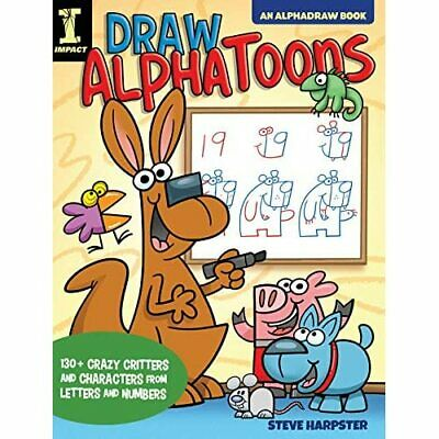 £10.84 • Buy Draw Alphatoons: Crazy Critters And Characters From Let - Paperback NEW Harpster