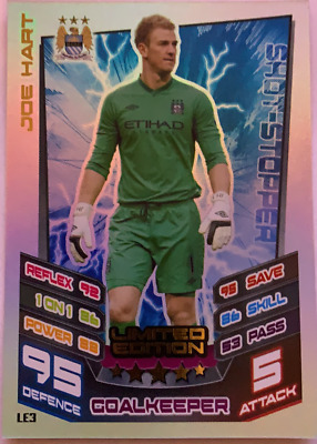 £1.79 • Buy Topps Match Attax 12/13 Joe Hart Limited Edition Card