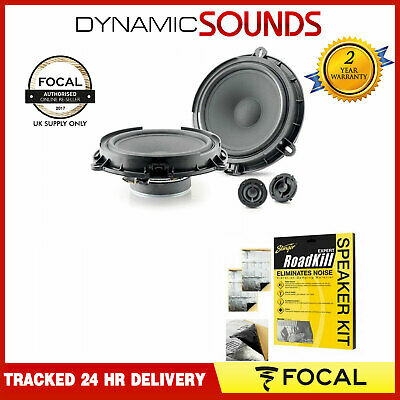 Focal Car Audio IS FORD 165 2-way Component Speaker Kit For Ford Vehicles • 159.95£