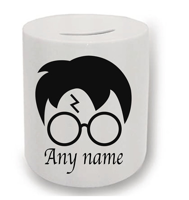 Harry Potter Personalised Money Box  • 6.50£