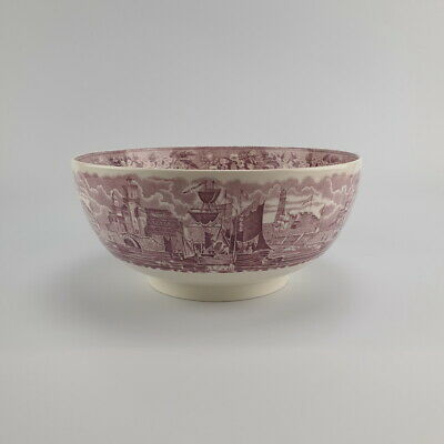 Wedgwood Ferrara Lilac Large Bowl 9 Inches Great Condition • 55£