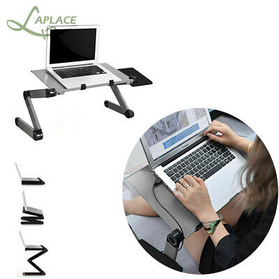 Adjustable Portable Laptop Stand Lazy Lap Sofa Bed PC Notebook Desk Table Tray • 15.89£