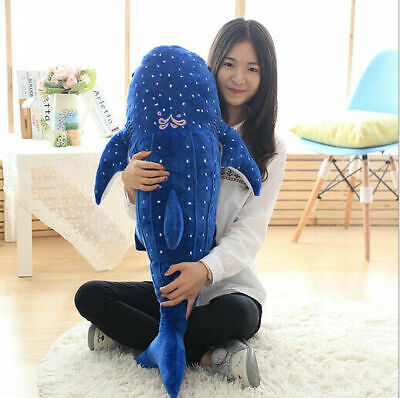Big Whale Shark Toys Plush Stuffed Animal Ocean Spotted Fish Amazing Gifts Hot  • 18.90£