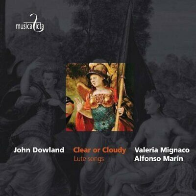 Valeria Mignaco; Alfonso Marin-Clear Or Cloudy - Lute Songs CD NEW • 13.19£