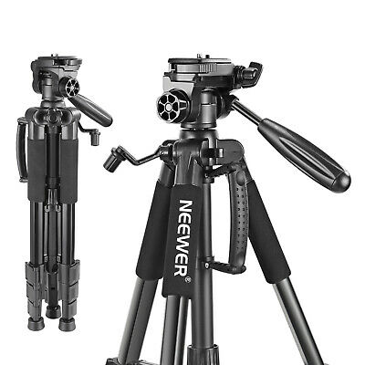 AU30.99 • Buy Neewer 56  DSLR Camera Tripod Portable With 3-Way Swivel Pan Head Carrying Bag