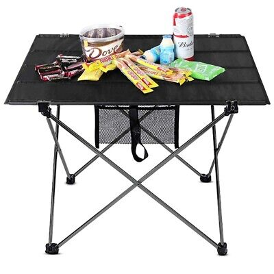 Picnic Table Chairs Set Portable Folding Outdoor Camping Table With Stools • 49.65£