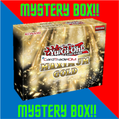 Yu-Gi-Oh! Maximum Gold MYSTERY BOX - MAGO Boosters, Structure Deck, Sleeves, Etc • 23.75£