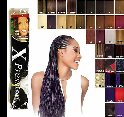 X-pression (xpression) Ultra Hair For Braiding, Expression  Kanekalon  Original • 5.89£