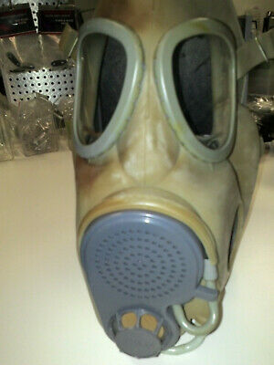 $19.95 • Buy For Parts Czech Military M10 Premium Gas Mask Full Face