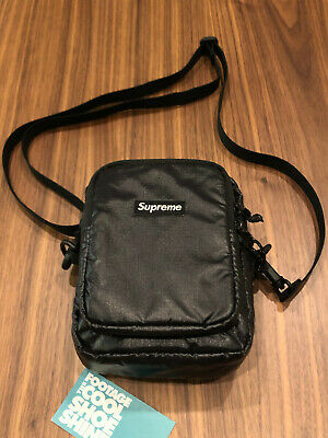$ CDN254.33 • Buy 2017 Fw17 Supreme Cordura Fabric Shoulder Bag Box Logo Black